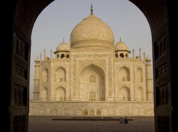 Agra Architecture Built Structure Cultures History India Taj Mahal Tourism Travel Travel Destinations UNESCO World Heritage Site