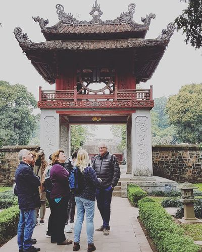 Temple Of Literature 1070-1779 Temple Of Confucius Vietnam's First National University Hanoi Holiday With Sharon Lsc_hanoi Winter 2018_temple Of Literature Architecture