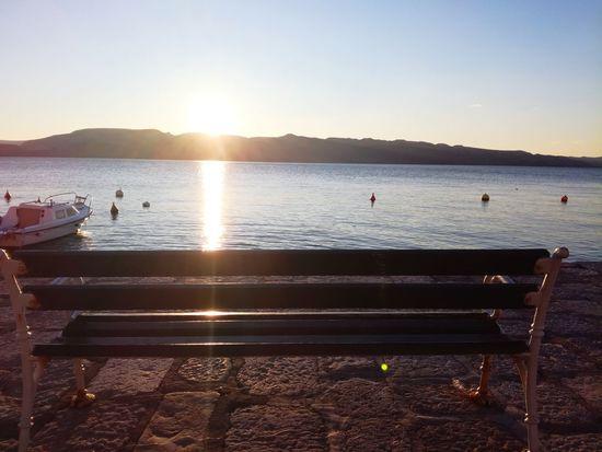 Croatia Croatia Sunset Pier Sunlight Water Sea Beach Sun No People Summer Travel Destinations Nature Vacations Outdoors Beauty In Nature Silhouette Scenics Day Nautical Vessel Sky Clear Sky