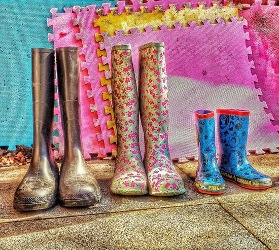 Wellies  Tidy Up
