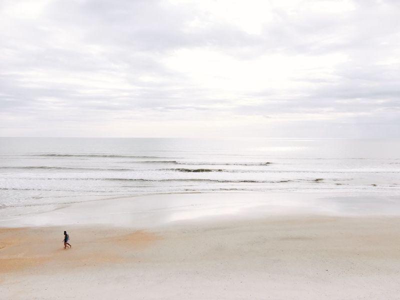finally got a vacation, thank you god Vaction Beach Florida St Augustine Vilano Beach