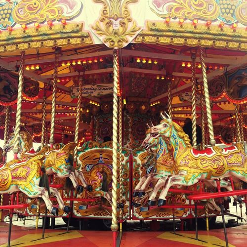 Carousel Carosel Horse Fairground Ride