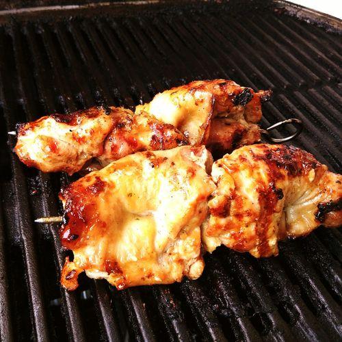 Chicken kebabs Chicken Kebab Grilling