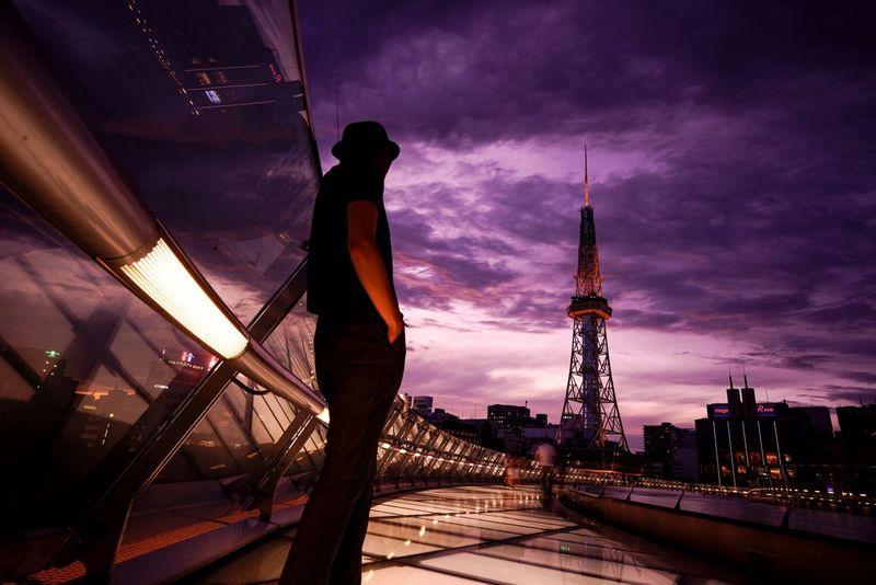 Urban Lifestyle Sunset Cityscape Sky Tower Reflection Silhouette Nagoya EyeEm Best Shots First Eyeem Photo Camera:α7R