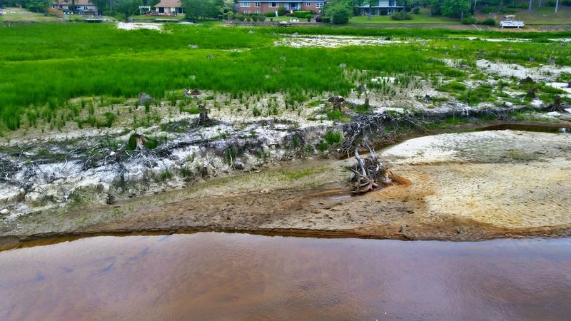 Aftermath of the Flood, Part 8: Dried Up -- more effects 6 months after the dams failed as a result of the historic flooding in October. Please visit my site to view more of this ongoing project @ http://elle.d6collab.com/portfolio/aftermath-of-the-flood/. I'll be adding more to it this weekend. You can browse the current list of my portfolio projects @ http://elle.d6collab.com/portfolio/ if you like. Would you like your own portfolio site designed by me and hosted on http://d6collab.com for free? With it, you can easily display galleries, post portfolio projects, accept donations for your projects, and even sell your own digital downloads! Please see this special donor gift if you're interested in having your own online portfolio that is monetizable right out-of-the-box: http://elle.d6collab.com/portfolio-subsites/! As a special bonus, in addition to your website, you will also be allowed early entry into the d6 Collab community! And for a limited time, you will also be guaranteed a FREE LIFETIME membership @ http://d6collab.com/! Please feel free to let me know if you have any questions or comments. You can see the hdr version of this on my original account: @poetographer. ☺✌ Showing Imperfection Dry Dried Dried Up Lake Dried Up Lakebed Nature EyeEm Nature Lover Beauty In Nature Power In Nature Trees Architecture Houses Homes Flood Damage EyeEm Best Shots Eye4photography  EyeEm Best Shots - Nature No People Landscape Landscape_Collection Landscape_photography Landscapes The Great Outdoors - 2016 EyeEm Awards The Photojournalist - 2016 EyeEm Awards