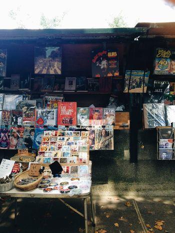 Streetphotography Shop Stall Magazine Vintage Souvenir Paris France