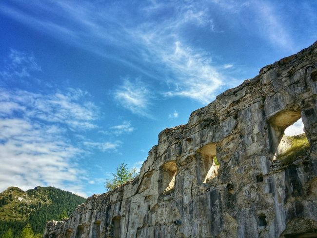 WWI Fort, Vezzena Highland, Trento, Italy Travel Italy Trento Vezzena Highland Mobile Photography Art Fineart Backlight Wwi Military Forts