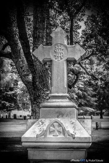 RIP Series: Eternal Cross Cemetery Rest In Peace Series Blackandwhite EyeEm Best Shots - Black + White