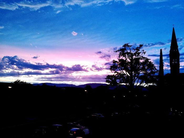 Outdoors Sky Sunset Night EyeEm Best Shots - Nature