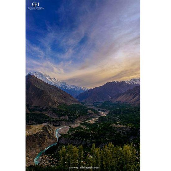 HUNZA Karimabad Hunza Nagar Pakistan Beautifulpakistan Valley Water