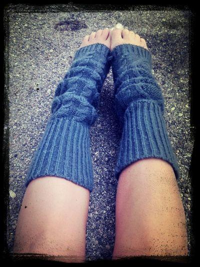 Legg warmers kinda day. Legwarmers