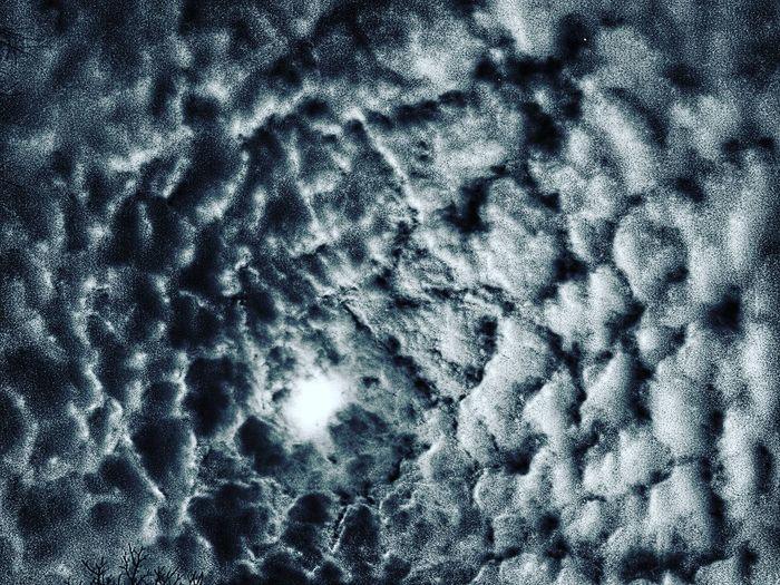 Moon Sky Clouds Cloud