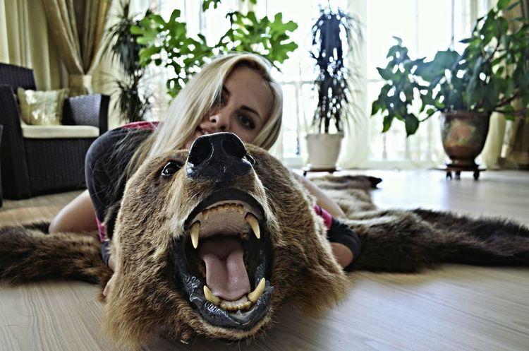 Bear Girl Moscow Summer2015 Holidays