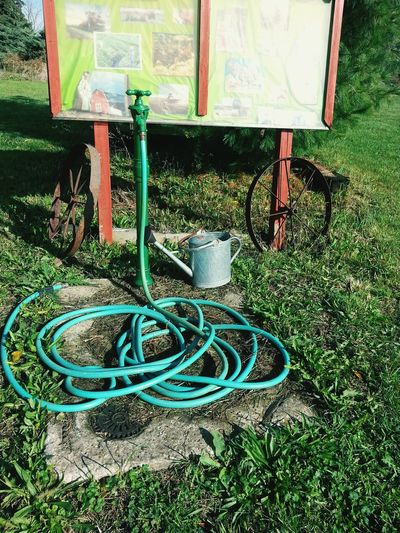 Outdoors Water Hose With Pump