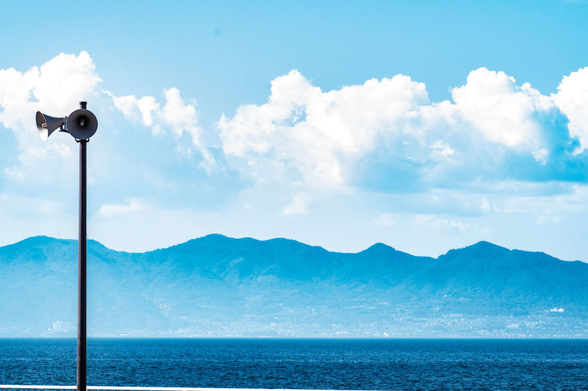Sky Cloud - Sky Mountain No People Outdoors Sea Water Day Nature Scenics Beauty In Nature 大分 高崎山下海岸 EyeEmNewHere