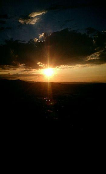 Enjoying The View Sunday Sunset