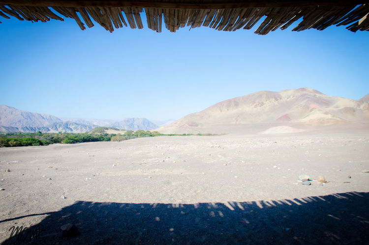 Líneas de Nazca, momias, desierto museos. Desert Deserts Around The World Momia Momias Beauty In Nature Clear Sky Day Desert Landscape Mountain Mountain Range Nature No People Outdoors Scenics Sky Tranquil Scene Tranquility