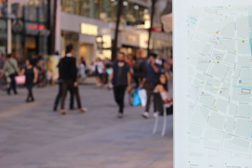 Vienna maps Vienna View  Vienna Map Directions Directions In The City People In The Background Unfocused Perspective City Map City Directions Direction Ourside In The Street Showcase April Street Direction Street Directions