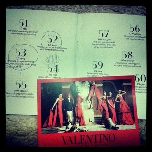 Valentino Masterofcouture SomersetHouse TheCatwalkJan2013