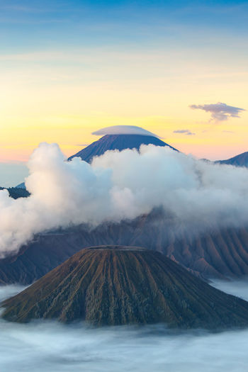 Cloud INDONESIA Landscape_Collection Nature Sun Rise Sunlight Travel Travel Photography Volcano Landscape Beauty In Nature Bromo Bromo-tengger-semeru National Park Indoors  Landscape Mountain Range Travel Destinations Travel Destinations Outdoors Volcano