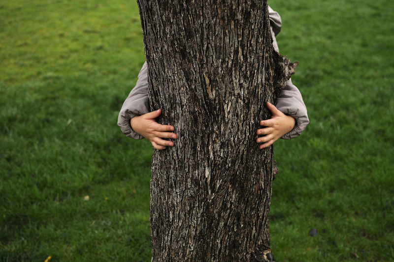 A child hugs a plant (France) Hands Trunk Tree Trunk Plant Tree Human Body Part One Person Nature Body Part Hand Human Hand Environment Environmental Conservation Focus On Foreground Embracing Outdoors Human Limb Holding Grass Care Day Nizza France EyeEm Best Shots EyeEm Nature Lover