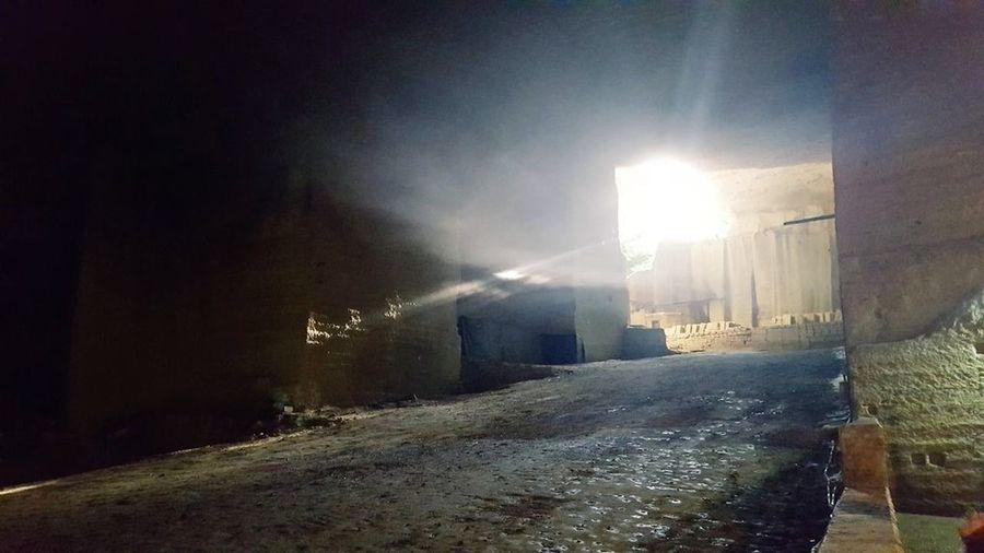光 暗い 採石場 日本 Japan Light And Shadow Nature Destruction Crime Light Beam No People Outdoors