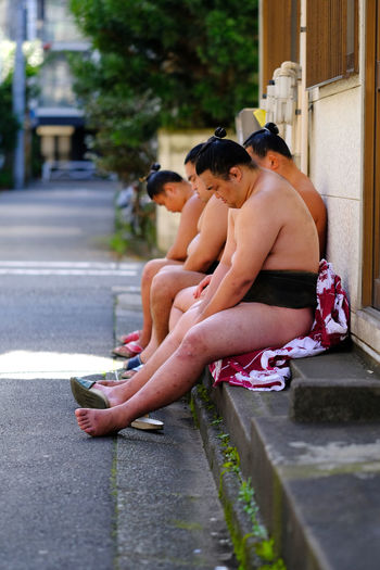 Japan Stable Streetphotography Sumo Sumowrestler Tradition Training Wrestler
