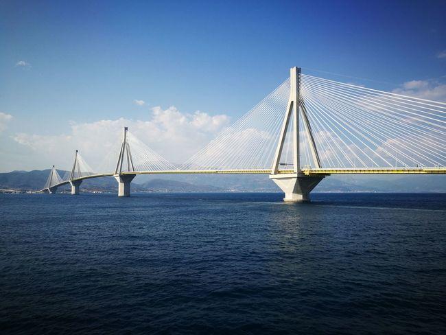 Bridges Greece Patras,Greece Symmetrical Patterns Boats