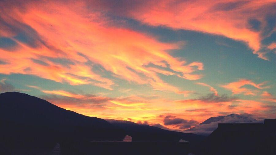 Relaxing Nature Sunset 飯綱 Taking Photos Landscape Japan