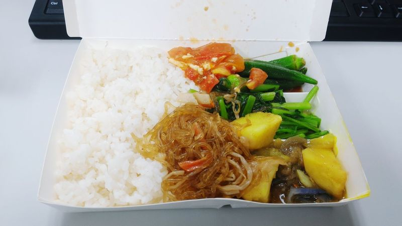 Chinese Food Lunch Box Mealtime OpenEdit
