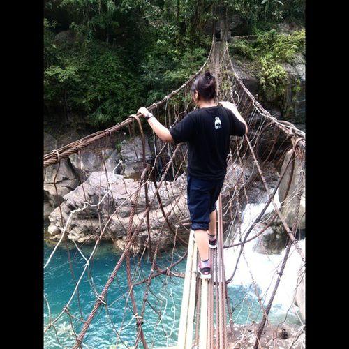 Beautyatitsbest Bluewater 😍🌊 Thrill Serene Lovedit Hiking 3000Steps WayToDoubleDeckerBridge Besttimes I wish I could jump in the water, right up from der! I ❤ BLUE!