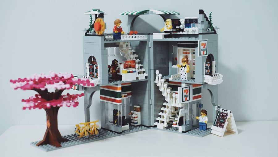 7Eleven  Seveneleven LEGO 711  Flower Flowering Plant Plant Indoors  Still Life Table No People