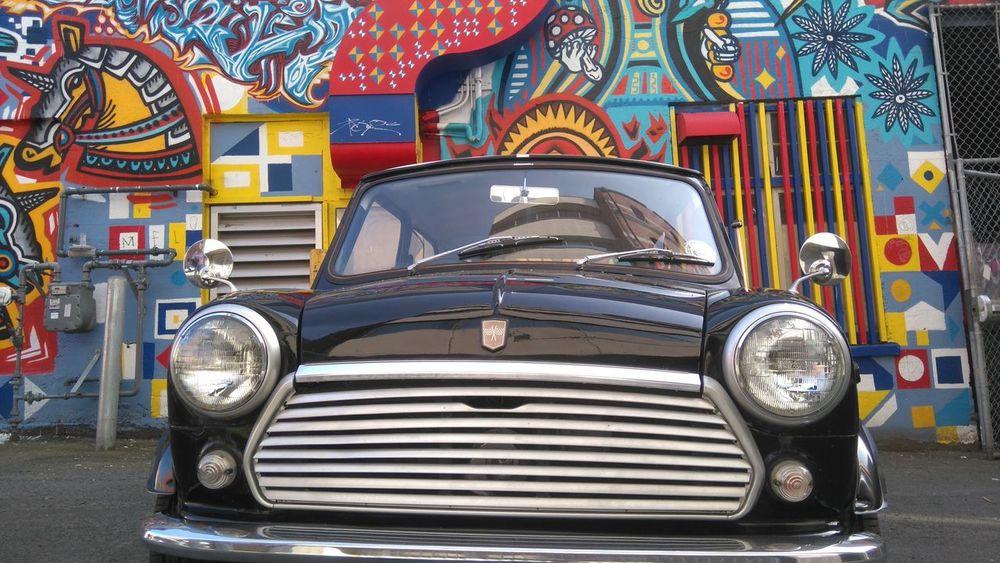 Austin mini Austin Mini Graffiti