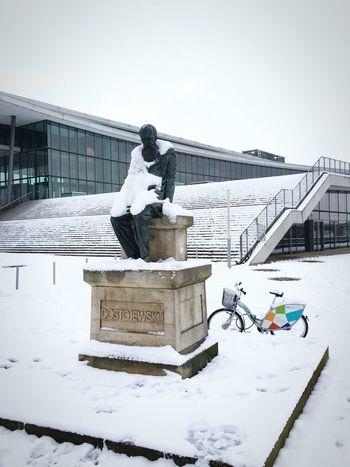 Dostojevski ist heute mit dem Fahrrad da. Check This Out