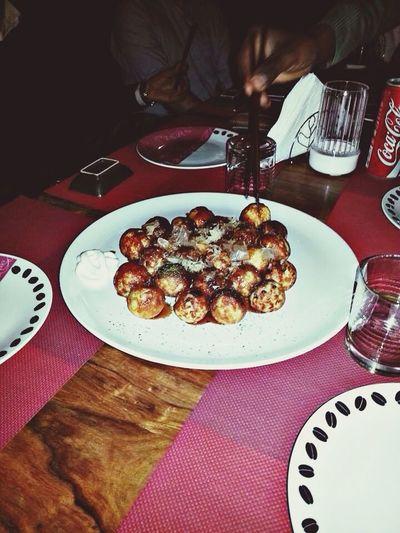 Takoyaki in Palermo Food Japan Dinner Friends