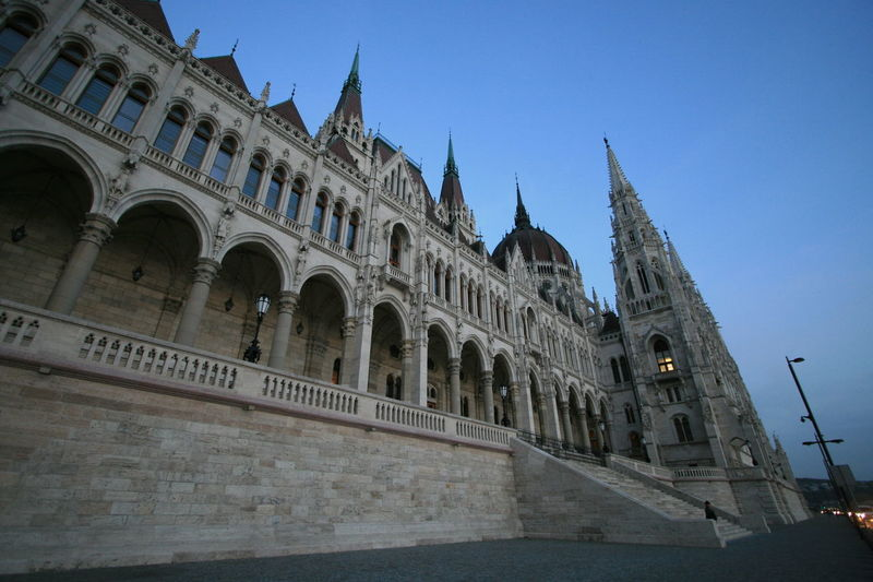 Architecture Architecture Budapest Budapest, Hungary Building Exterior Built Structure Castle City Clear Sky Cultures Europe European Architecture European Castle History Hungary Low Angle View River Side Tourism Tourism Budapest Tourism Destination Tourism Hungary Tourist Tourist Attraction  Travel Travel Destinations