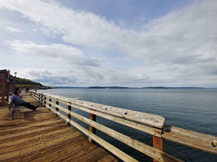 Pudget Sound LG V30 Tacoma_WA Urban Landscape Españoles Y Sus Fotos Outdoor Photography Nautical Vessel Sand Horizon Low Tide Seascape Coastal Feature Coastline Ocean Calm