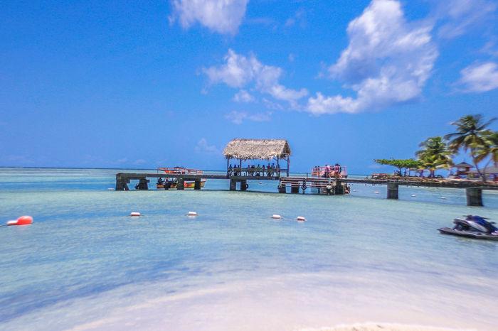 Go Pro Hero Gopro Sea And Sky Tobago Pigeon Point Beach Island View  Island Life ✌ Beach Photography