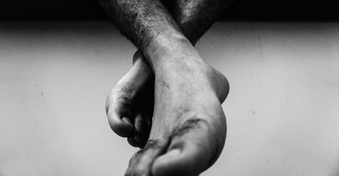 Men Close-up Human Body Part Low Section Indoors  Real People Feet Human Leg Happy Feet Budoir