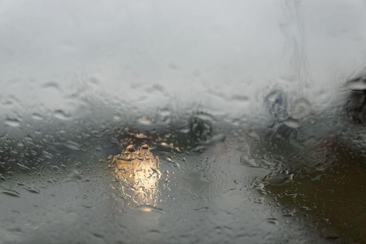 Wet Glass -
