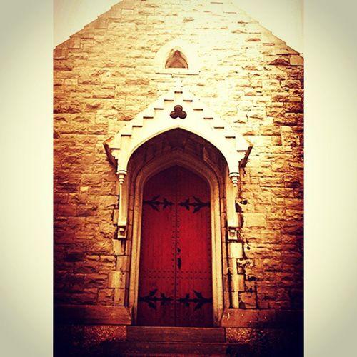 The Red Door Old Church Churchporn Historical Building Peaceful Place Faith&devotion