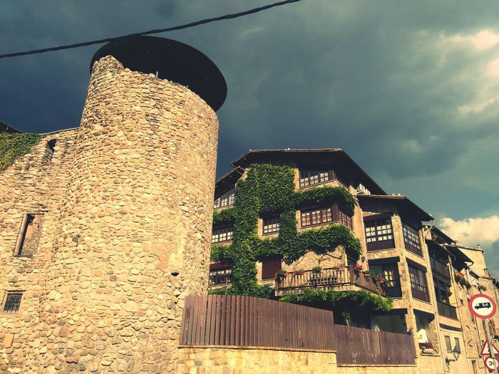 MedievalTown Tower Architectural Feature Built Structure Colors Nature Wall