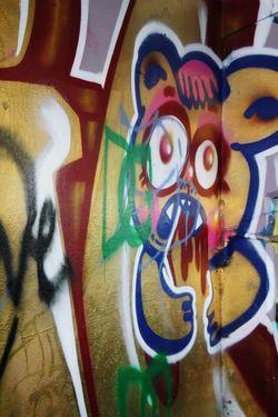 Lulu graffiti. . .(Abandoned Miami Marine Stadium Key Biscayne, FL)