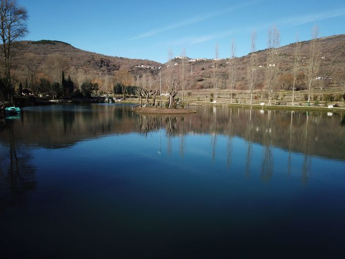 The Lake Molise Reflection Water Tranquil Scene Lake Waterfront Nature Tranquility