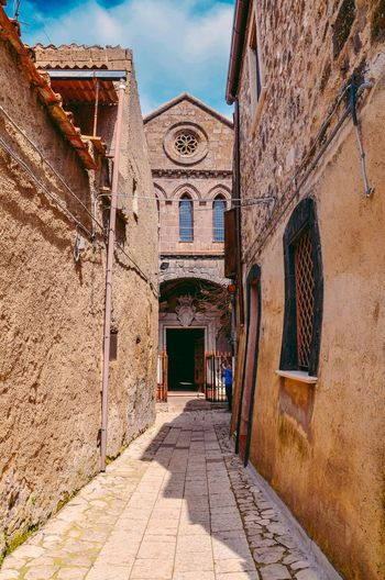 The medieval town of Casertavecchia.Campania, Italy. Village Italia Old Buildings Medieval Medieval Architecture MedievalTown Histirical History Casertavecchia Italy Street Narrow Narrow Street Travel EyeEm Selects History Door Façade Architecture Building Exterior Built Structure Townhouse Palace Old Town TOWNSCAPE King - Royal Person Entry Arch Entrance Castle