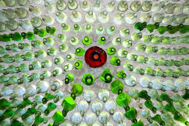 Full frame shot of green ball