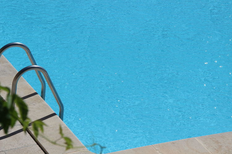 Close-up of swimming pool