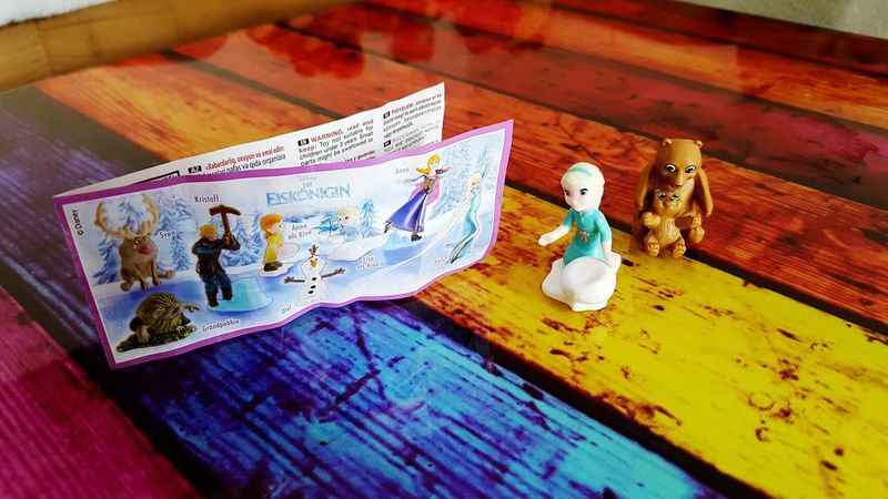 Surprise Frozen Elsa Colors Colorful Leaflet Surprise Egg Figure Collecting FROZEN MOVIE