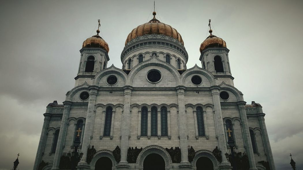Architecture Dome Travel Destinations Religion No People History Travel Building Exterior Built Structure Sky City Place Of Worship Spirituality Outdoors Day Cathedral Orthodox Orthodox Church Moscow Russia Cathedral Of Christ The Savior Spirituality Place Of Worship Tourism Travel