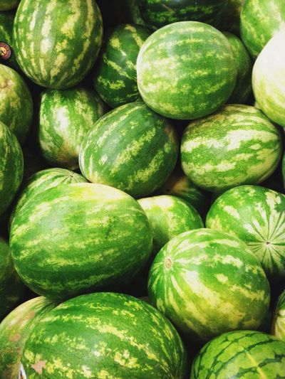 Close-up of watermelons for sale